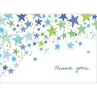 Blue Stars Notecards