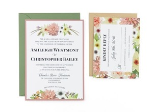 Fl Free Wedding Invitation Template