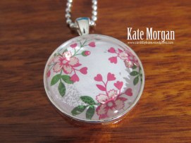 Love Blossoms Designer Costume Jewellery Necklace, #stampinup @cardsbykate DIY #stampinupaustralia