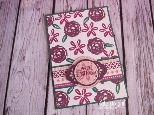 Paint Play stamp set, Pretty Label punch, Lovely Laurel thinlits, Stitched Shapes thinlits, Basics Pack 1 Washi Tape by Kate Morgan, Independent Stampin Up Demonstrator Australia