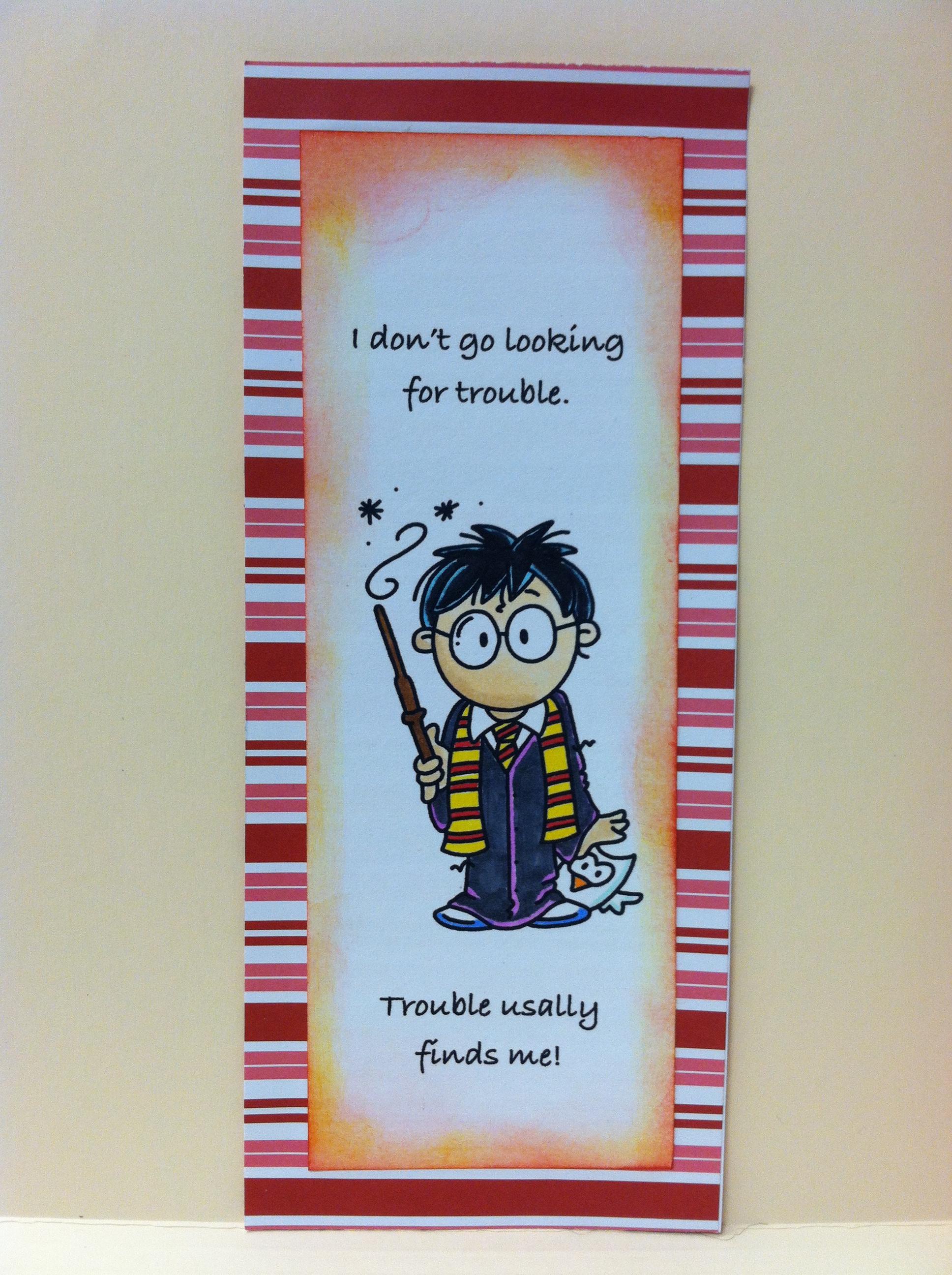 Harry Potter Bookmarks Cardsbymo