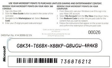 Xbox 360 Live 12 Month Gold Card Xbox Free Engine Image