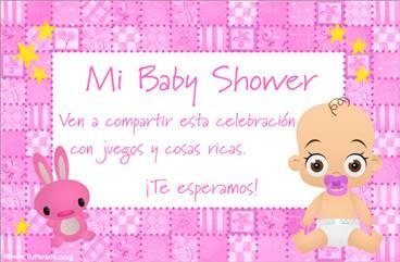 Invitaciones Para Baby Shower Para Niña Para Editar Free