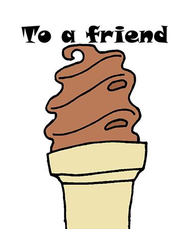 Friendship Ice Cream Cone