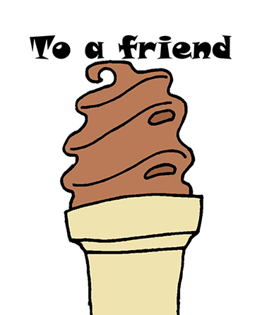 Friendship Ice Cream Cone