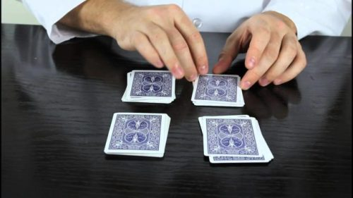 easy card tricks