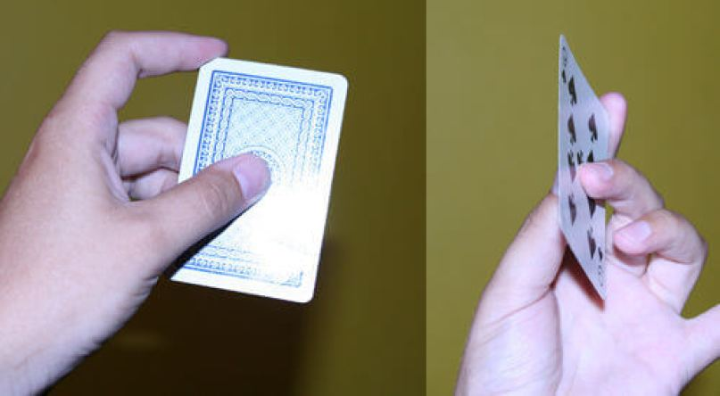throwing card