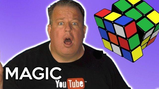 rubik cube magic trick