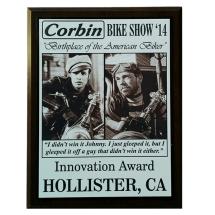 Innovation Award Corbin Ride-In Bike Show Hollister Rally 2014