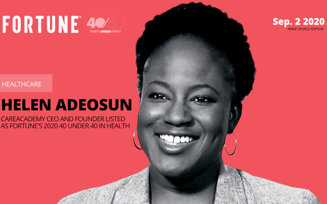 Fortune: Helen Adeosun Named to the Fortune 40 Under 40 in Health