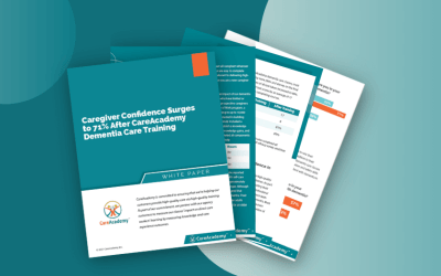Outcomes Research: Caregiver Confidence Surges to 71% After CareAcademy Dementia Care Training