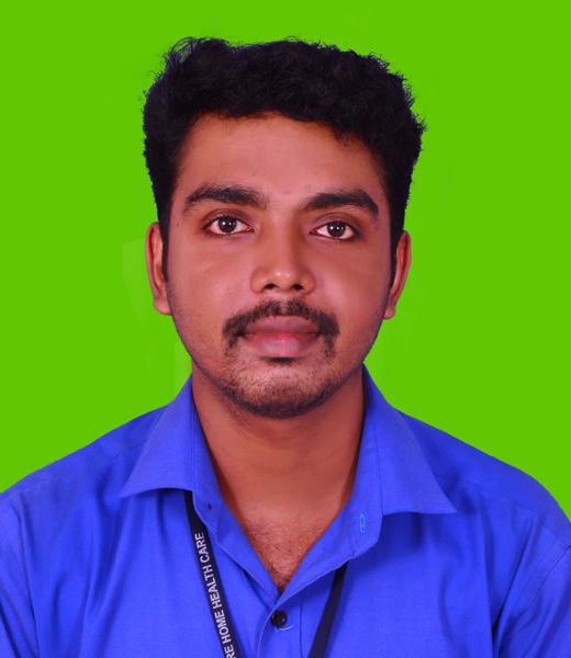 Sreejith, Registered Nurse