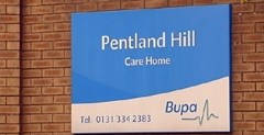 Pentland Hill Nursing Home: Report sent to fiscal 9