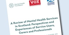 Report: Review of mental health services in Scotland, 2012-2015 3