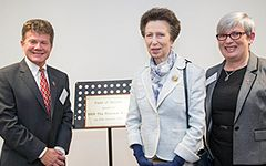 Princess Royal opens £2m learning and development centre for deafblind adults 13
