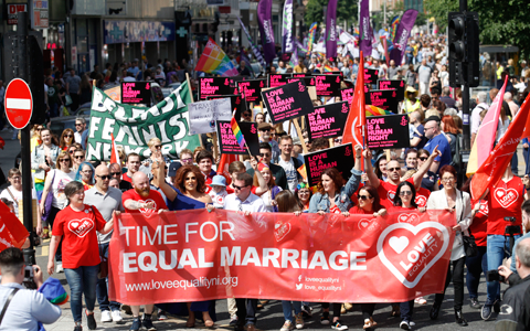 Proposals will not compel churches to provide same-sex marriage in Northern Ireland 1