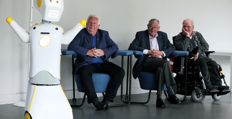 Irish university develops 'socially assistive' robot to combat loneliness in the elderly 7