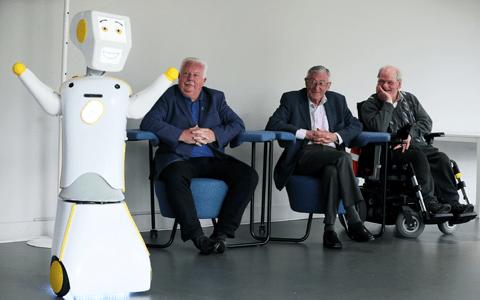 Irish university develops 'socially assistive' robot to combat loneliness in the elderly 1