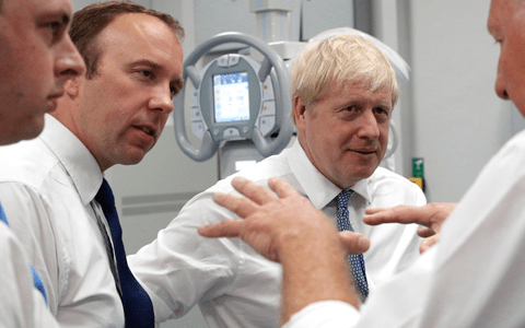 Labour accuse PM of misleading voters over £1.8 billion NHS cash injection 1