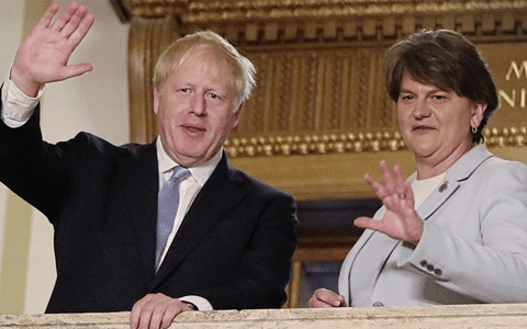 PM 'vocally and deliberately' depriving NI abuse victims a voice in the commons 1