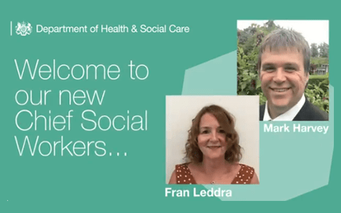 Government announce two appointments to role of Chief Social Worker for Adults 10