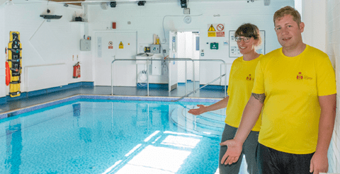 Merseyside charity opens new sensory swimming pool for people with autism 3