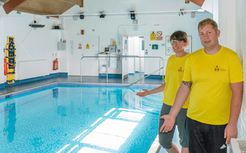 Merseyside charity opens new sensory swimming pool for people with autism 1