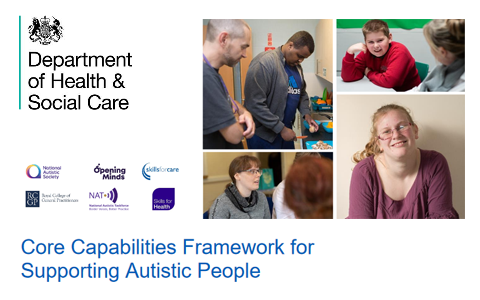 Resources: The Core Capabilities Framework for Supporting Autistic People (DHSC) 2