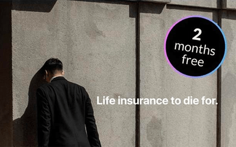 Life insurance 'to die for' advert banned for trivialising suicide 1