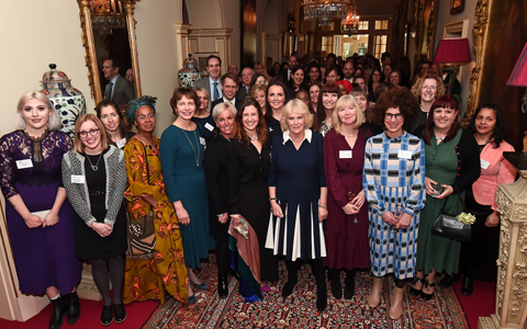 Camilla stresses importance of talking about domestic abuse during victims charity reception 1