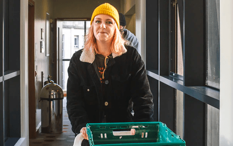 Charity launches UK's first free food delivery service for homeless in Bristol 6