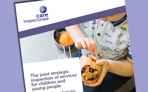 Report: Review of inspections of services for children & young people 2012 – 2017 (Scotland)