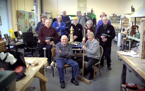 Praise for NI Men's Sheds projects in improving health and tackling isolation