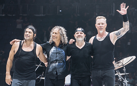 Manchester homeless charity 'blown away' as rockers Metallica donate £40,000