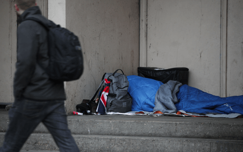 Call to tackle rough sleeping crisis as campaigners record death every 19 hours