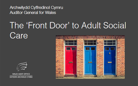 'Front door' approach to adult social care creating postcode lottery in Wales