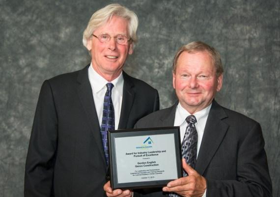 Winner - Gordon English, Genco Construction