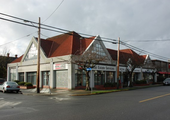 Silver - Gorter Construction Ltd. - Red Barn Market - Oak Bay Ave. - before