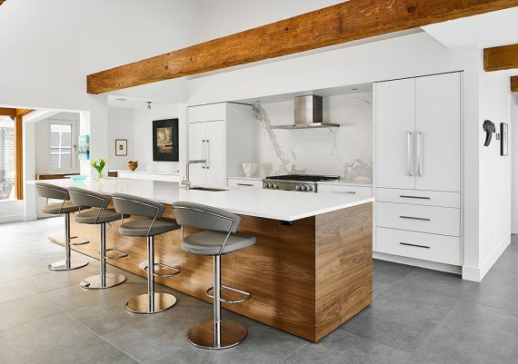 Gold - Goodison Construction Ltd. and Jason Good Custom Cabinets Inc. - Mid-Century Modern - after