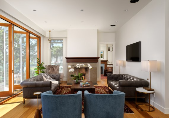 Silver - Kimberly Williams Interiors and Rannala Freeborn Construction - Spindrift Residence