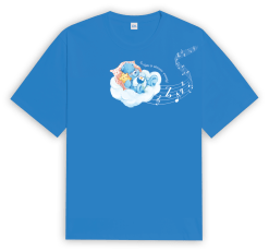 Care Bears Singapore The night is always young Blue