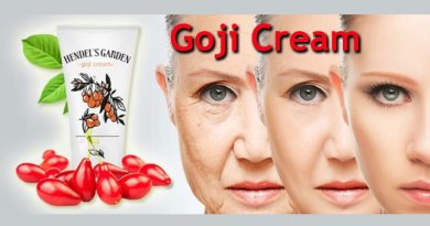 goji cream of handel's garden with three woman