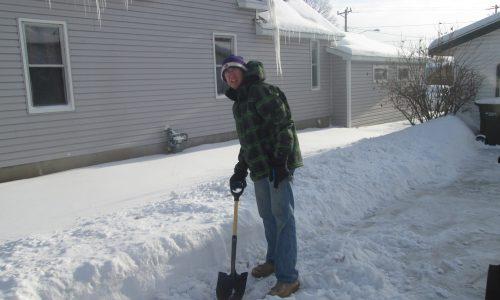 Winter Volunteer Yard Work