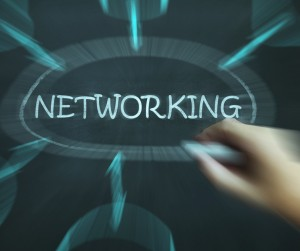 Job search networking picture