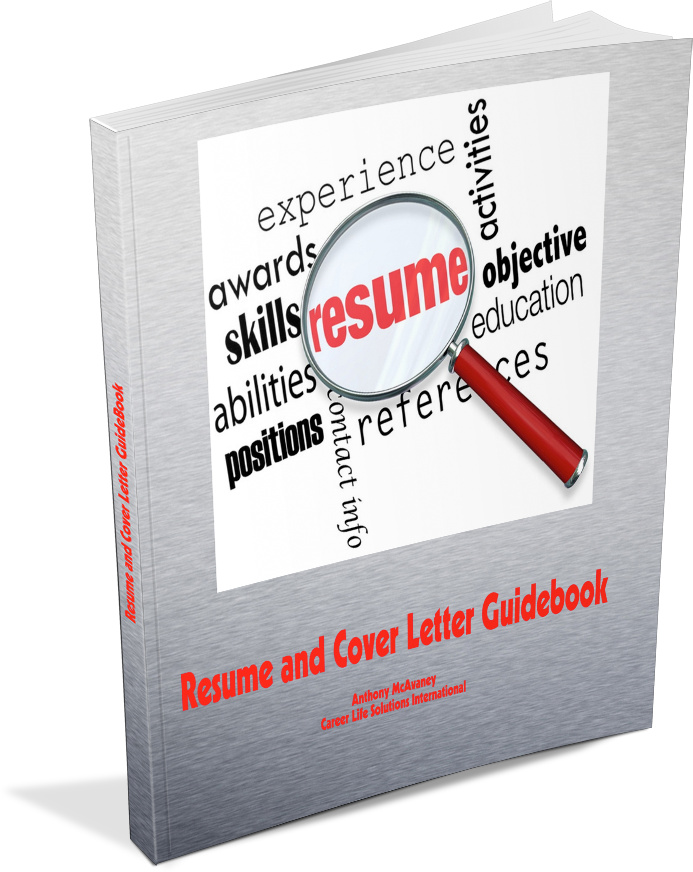 Image of the Resume and Cover Letter Guidebook front cover