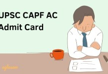 CAPF AC Admit Card