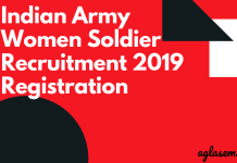 Indian Army Women Soldier 2019 Registration