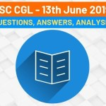ssc cgl 13th june