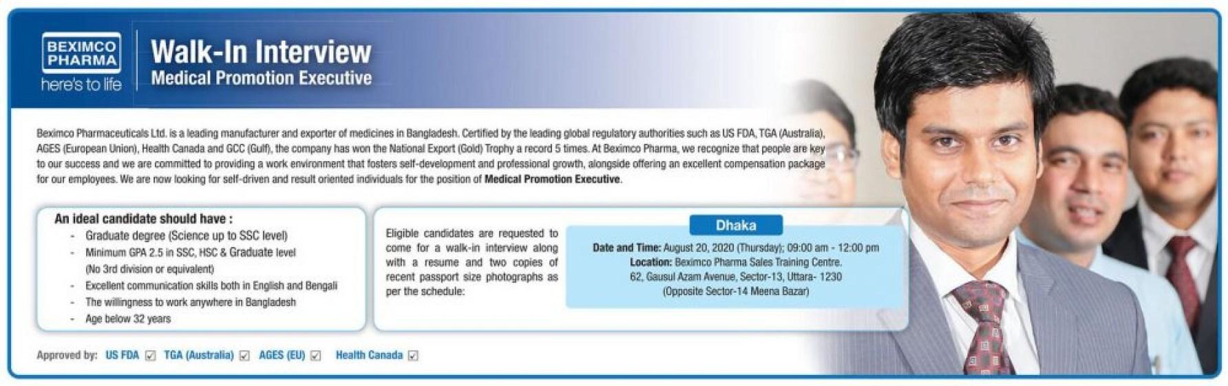 beximco-pharmaceuticals-medical-promotion-executive