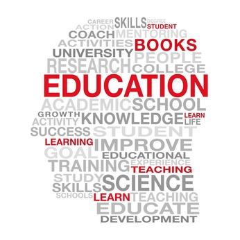 Education Words Concept